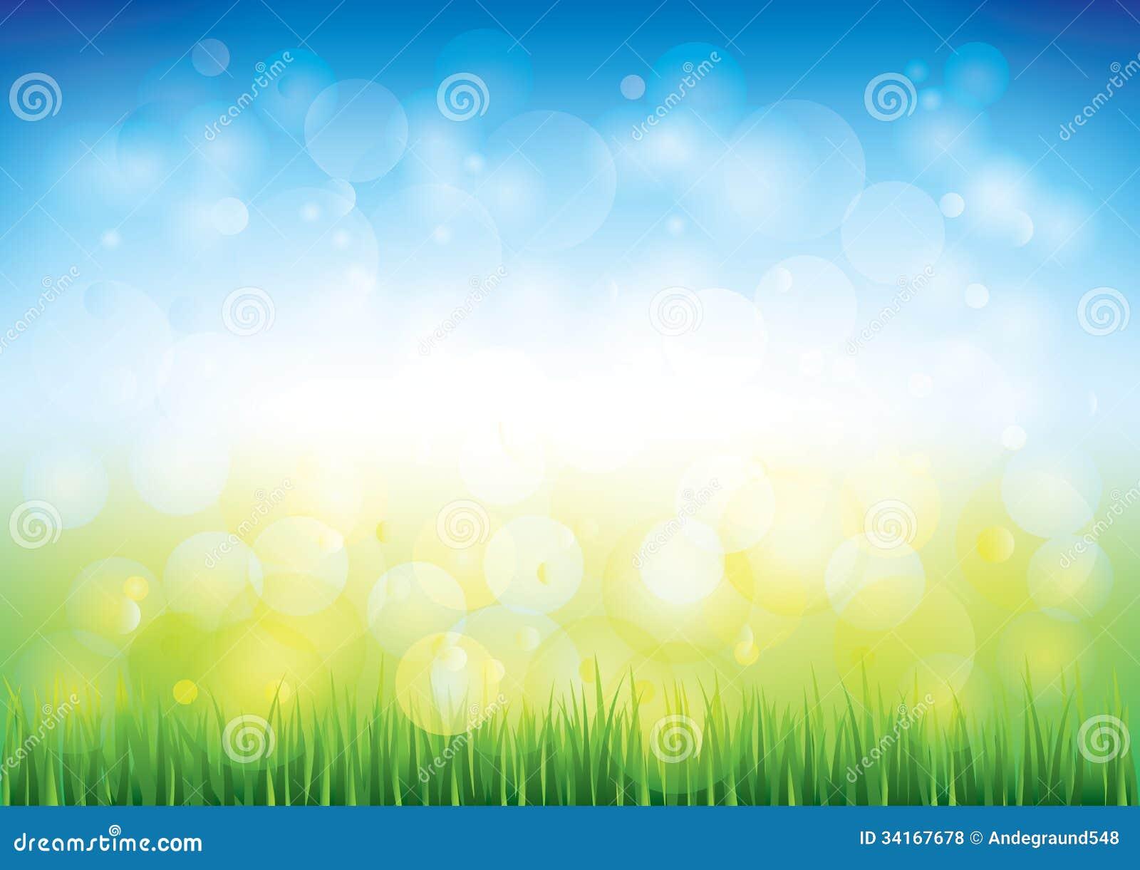 蓝天和草传染媒介背景