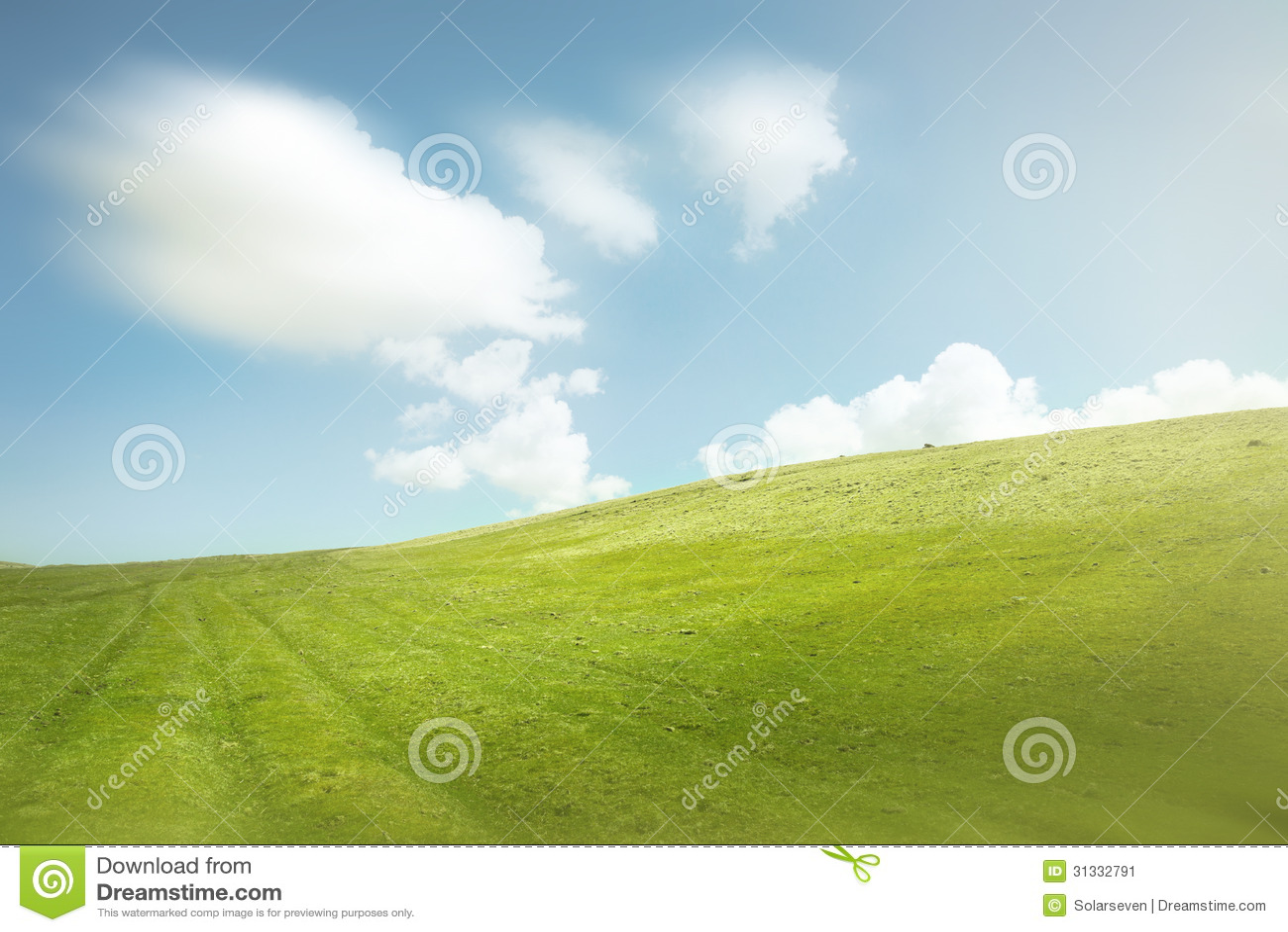 蓝天和青山