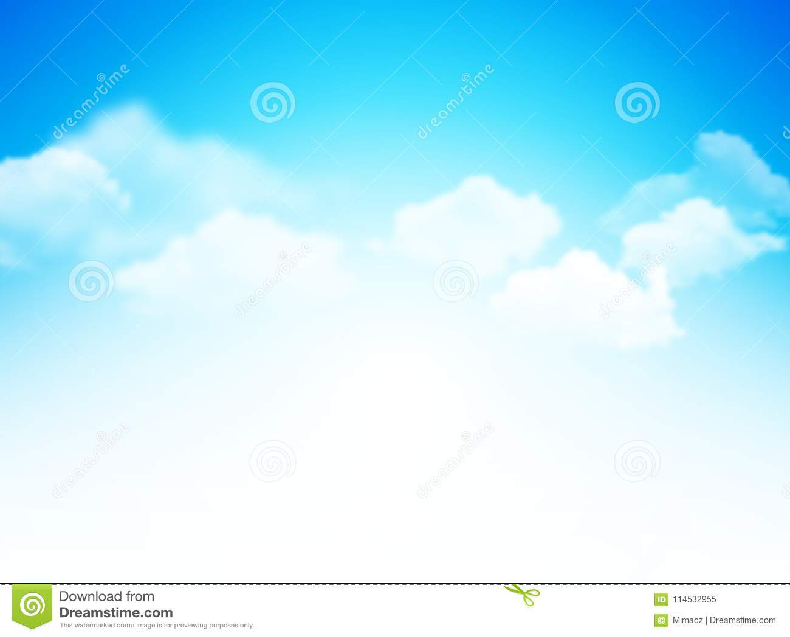 蓝天有云彩抽象背景