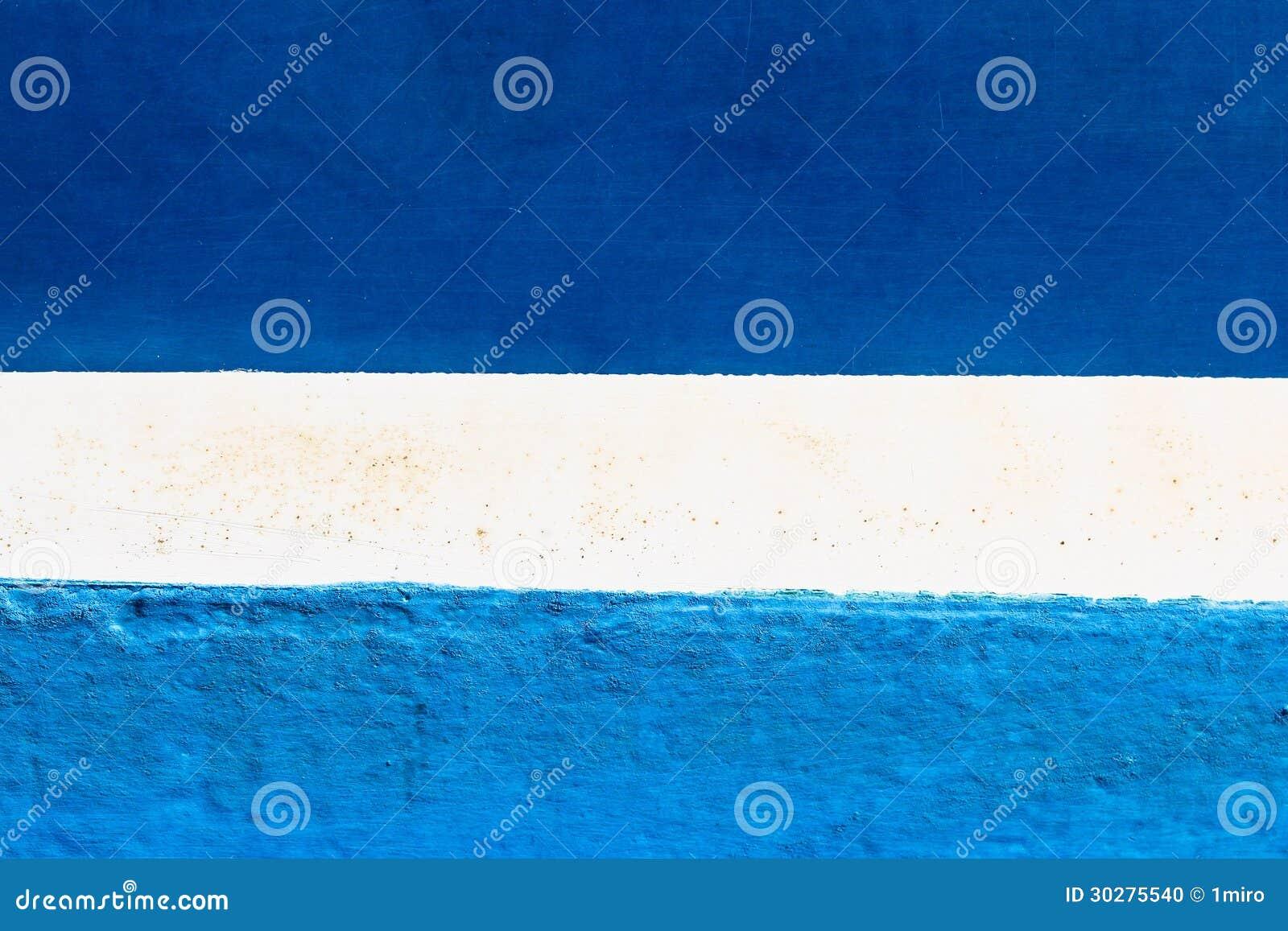 蓝色和白色被绘的抽象背景