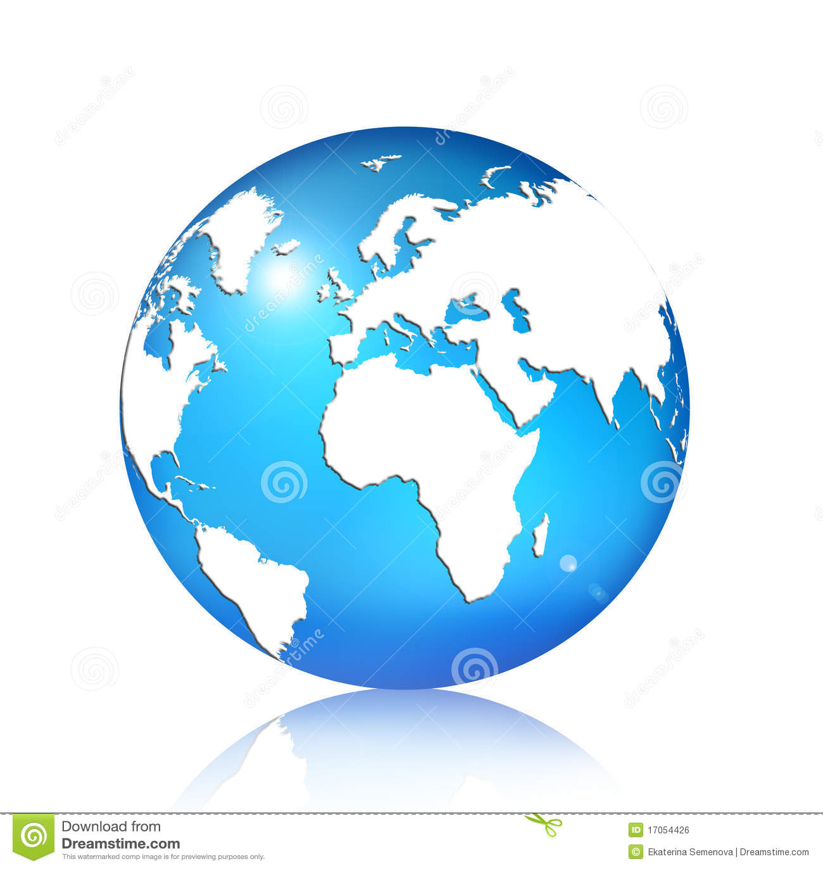 3d背景蓝色地球白色.图片