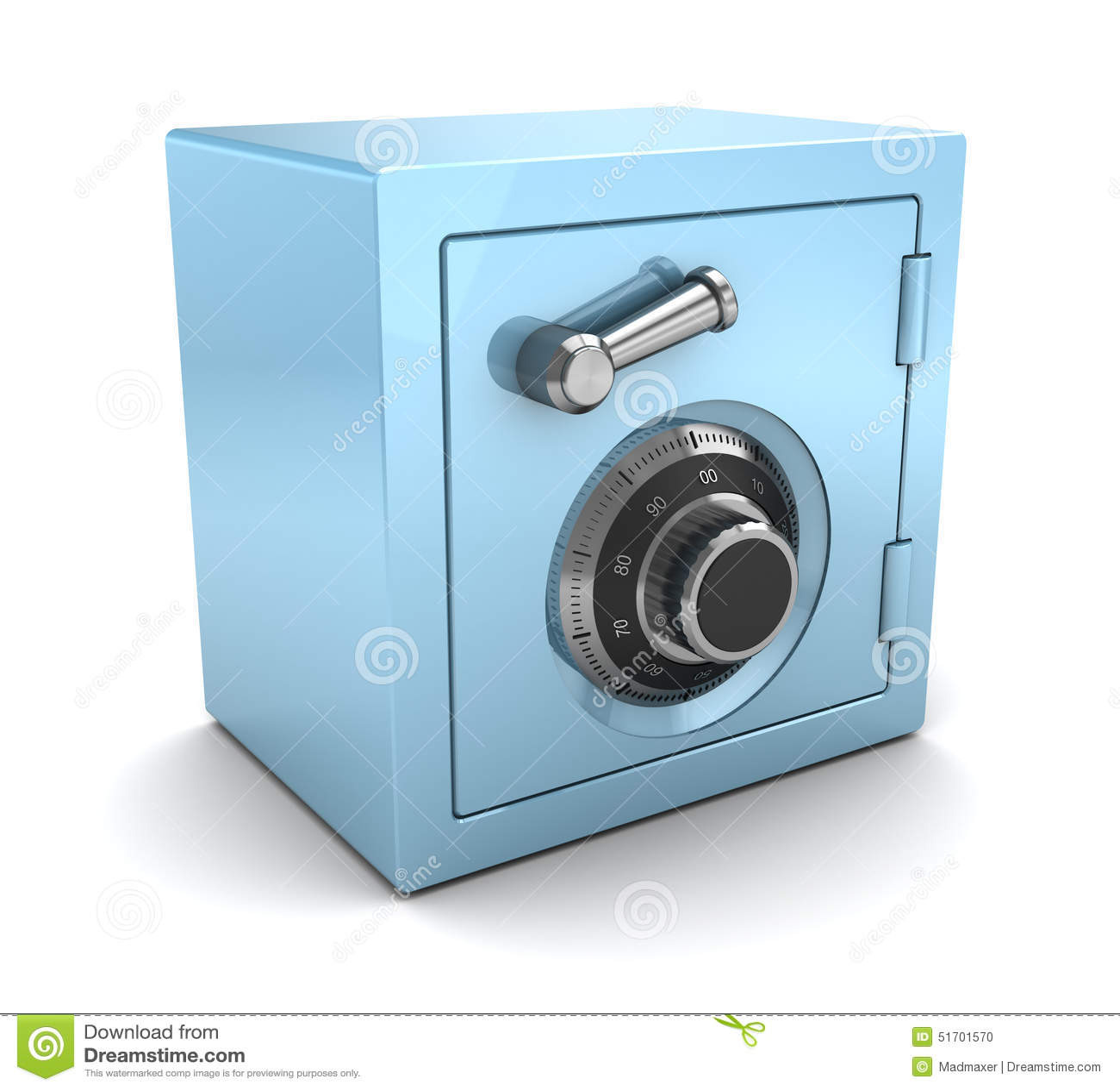 财务保险柜_蓝色塑料保险柜 库存例证. 插画 包括有 安全, 概念, 证券, 组合 ...