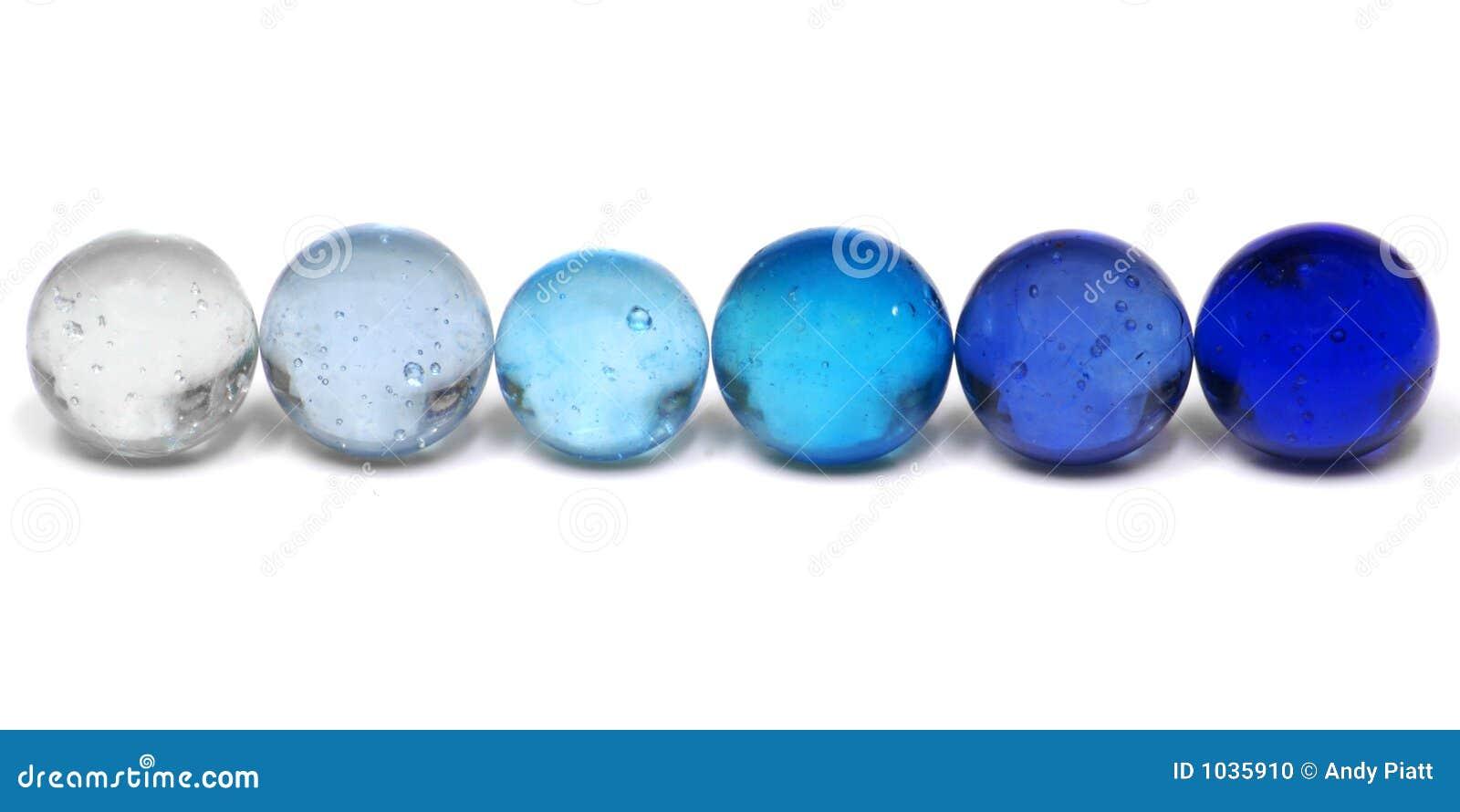 蓝色大理石