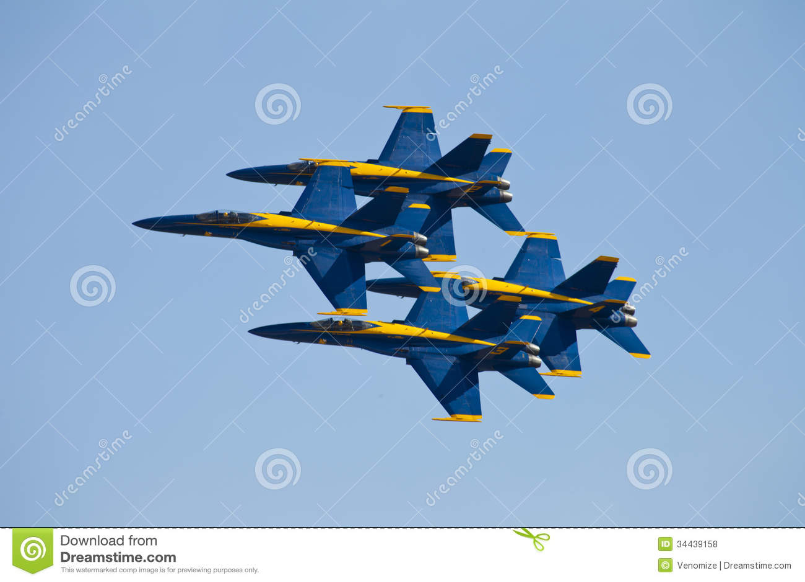 蓝色天使Airshow