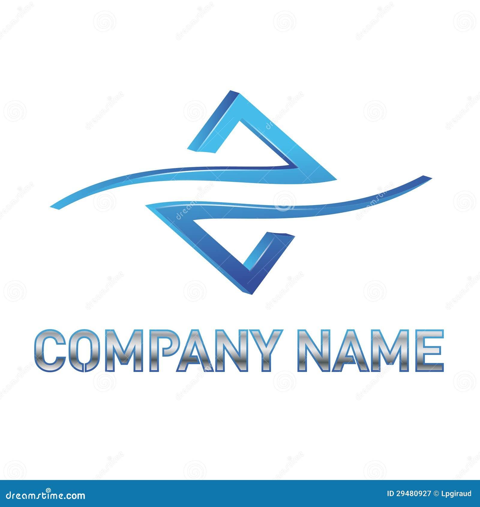蓝色技术徽标