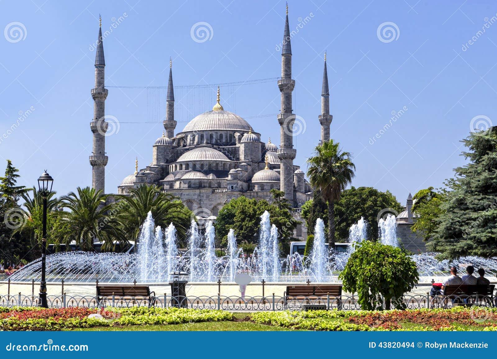 蓝色清真寺伊斯坦布尔土耳其