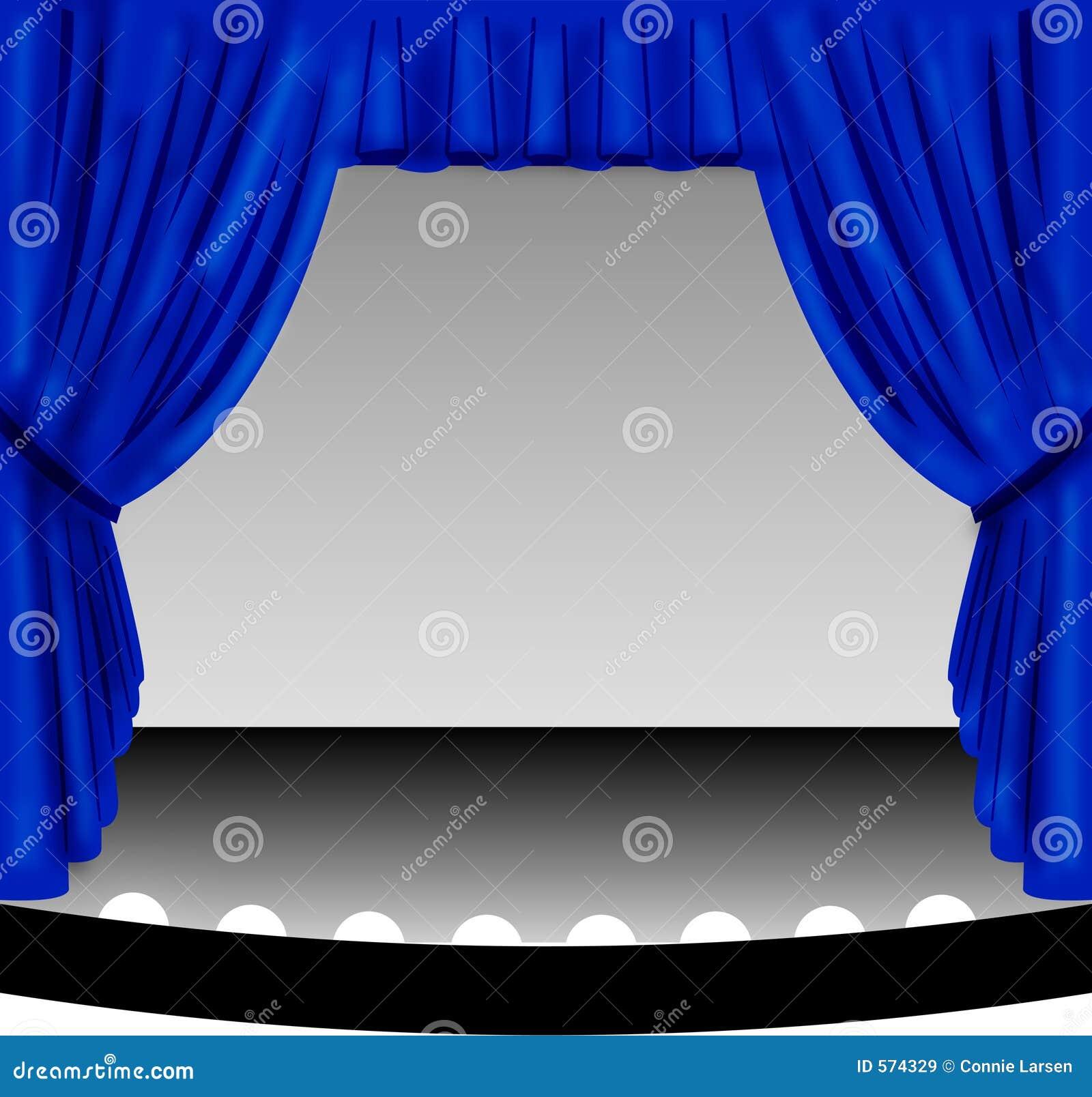 蓝色窗帘阶段