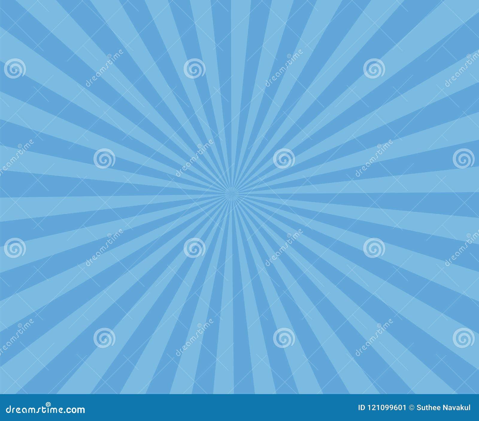 蓝色艺术镶边背景 现代条纹发出光线背景