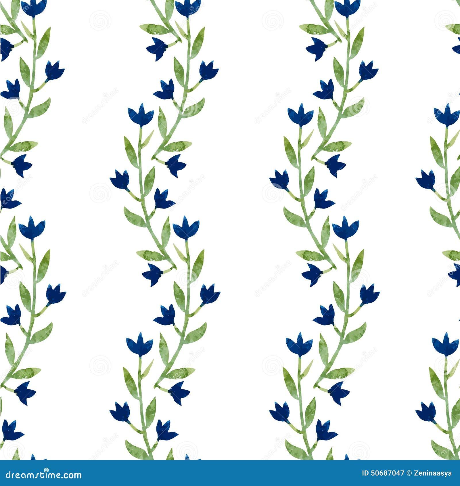 Download 蓝色花 向量例证. 插画 包括有 夏天, 设计, 水彩, 例证, 花卉, 背包, 开花, 逗人喜爱, beautifuler - 50687047