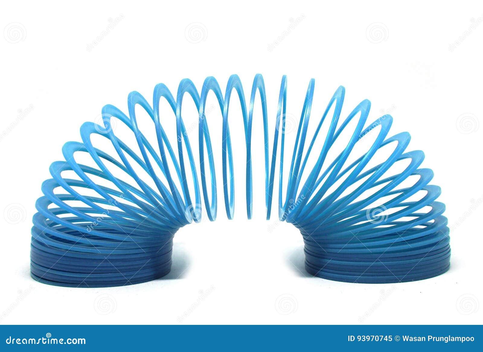 蓝色苗条的玩具