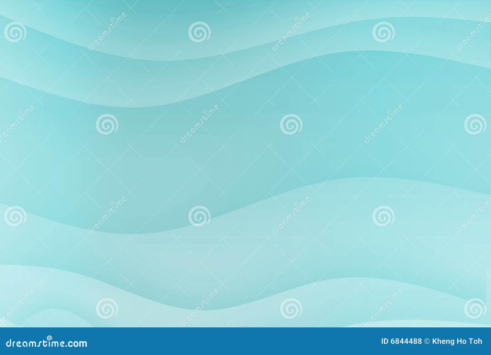 蓝色镇定的曲线安慰