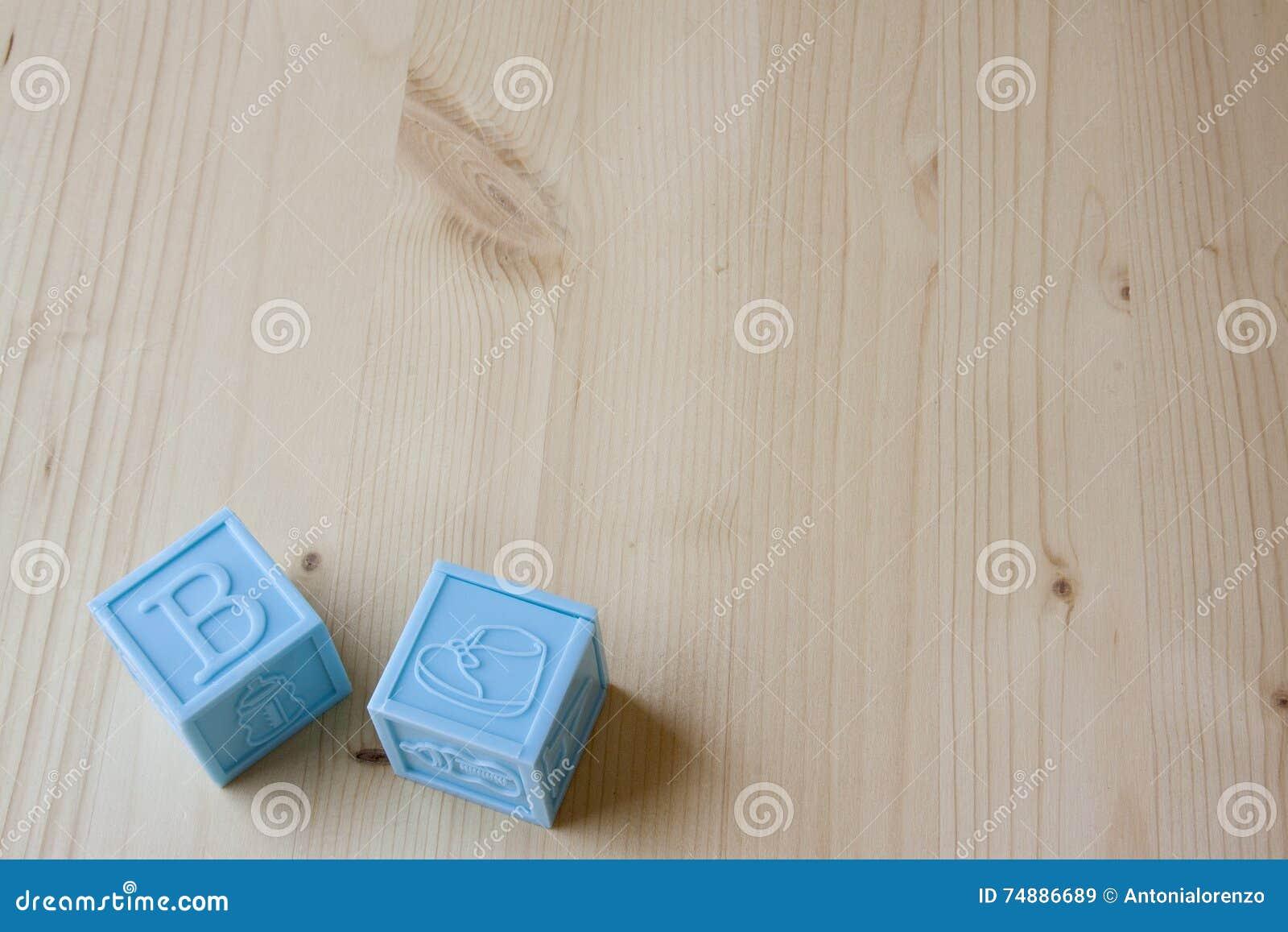 蓝色婴儿块