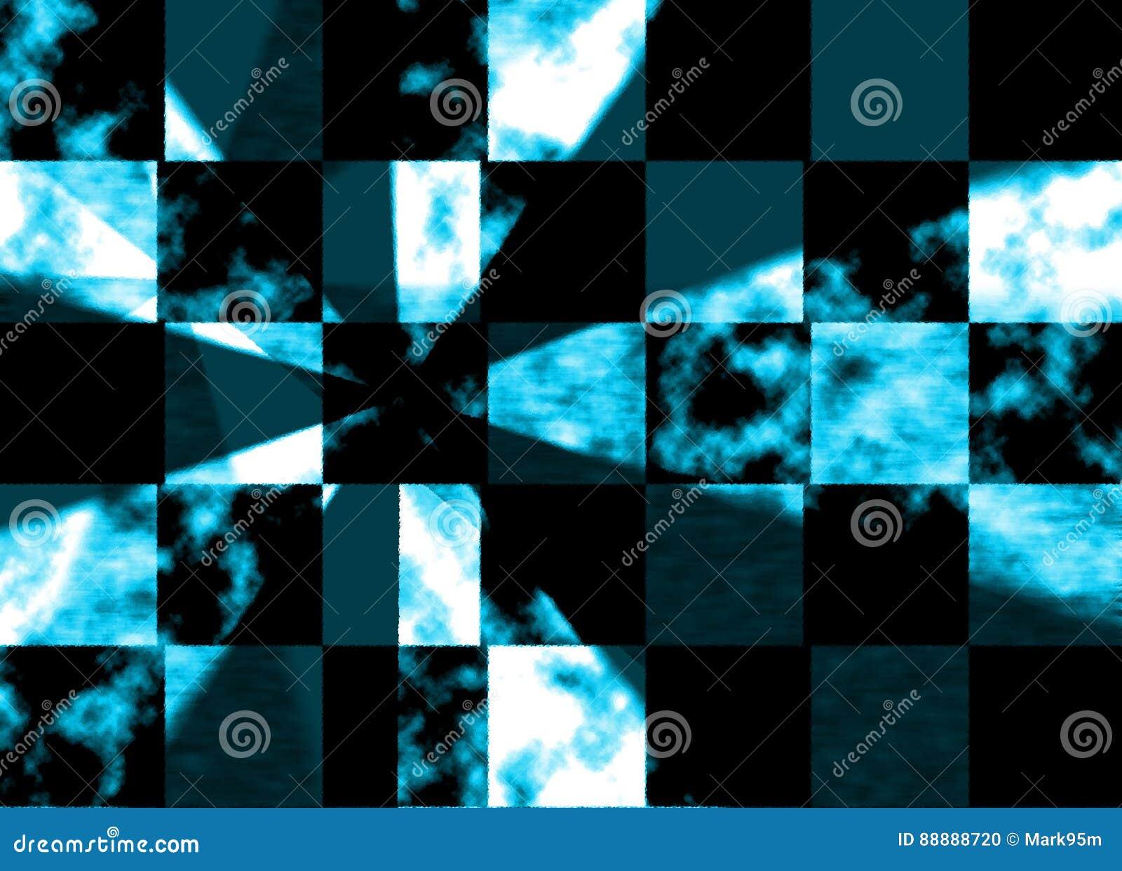蓝色玻璃样式墙纸背景