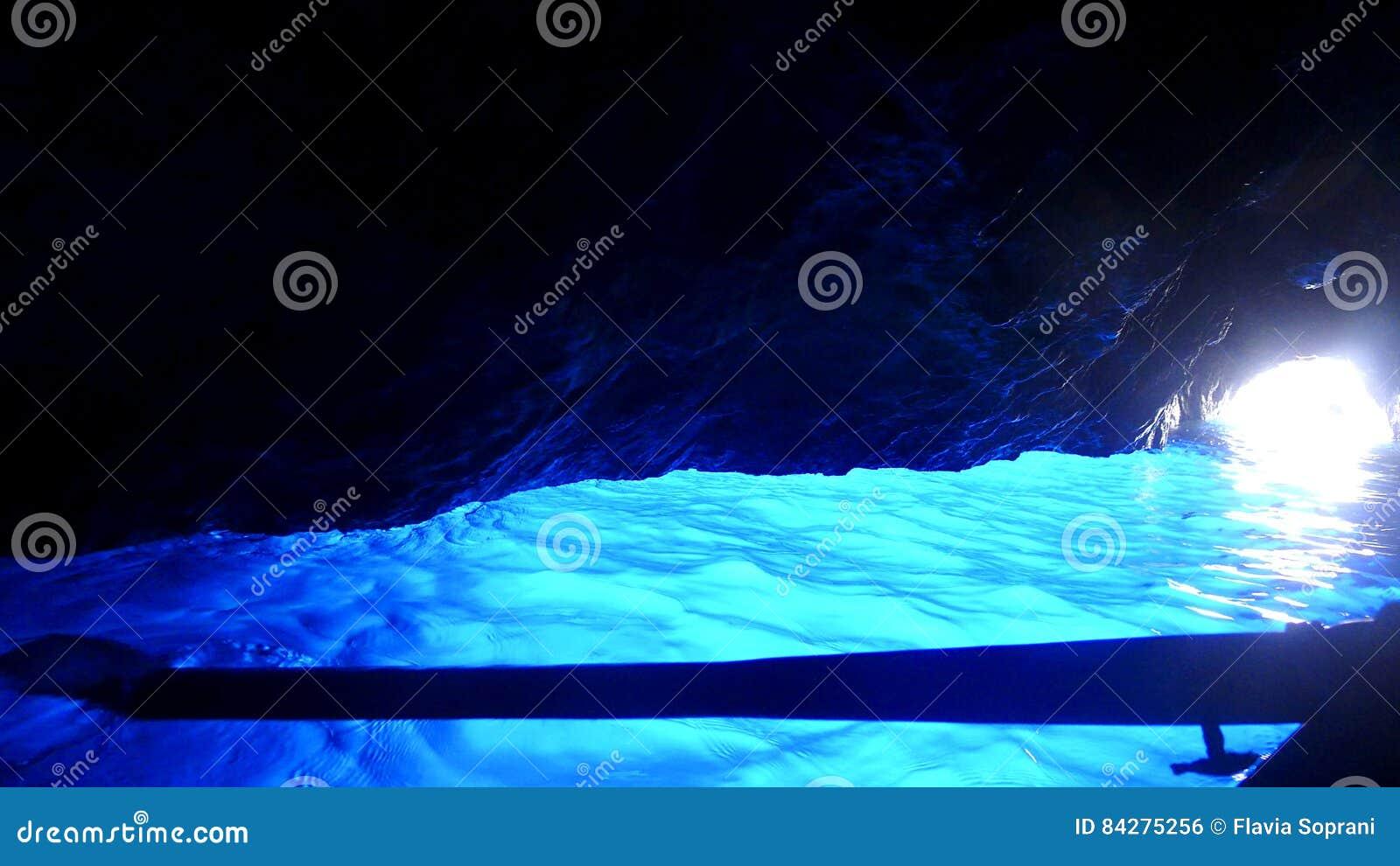 蓝色洞穴,卡普里岛,意大利