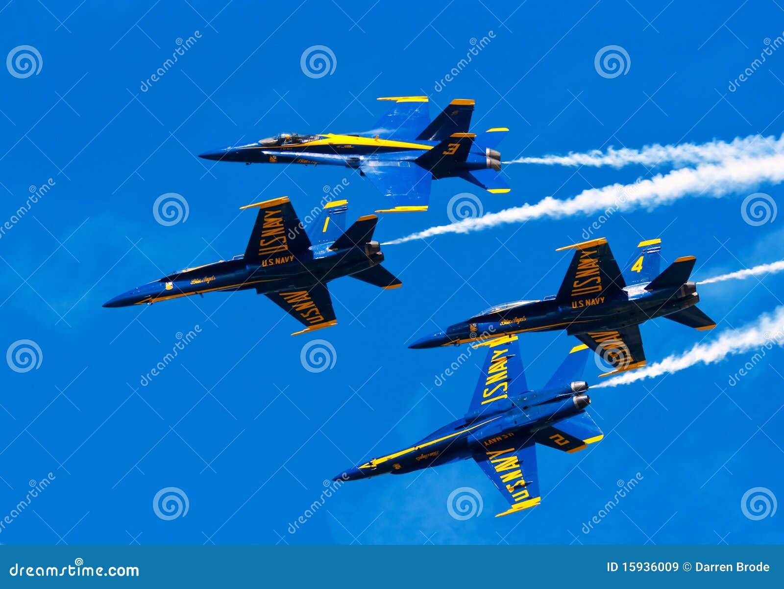 蓝色airshow的天使