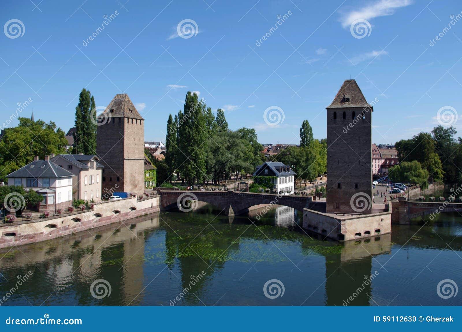 蓬兹Couverts塔 法国史特拉斯堡