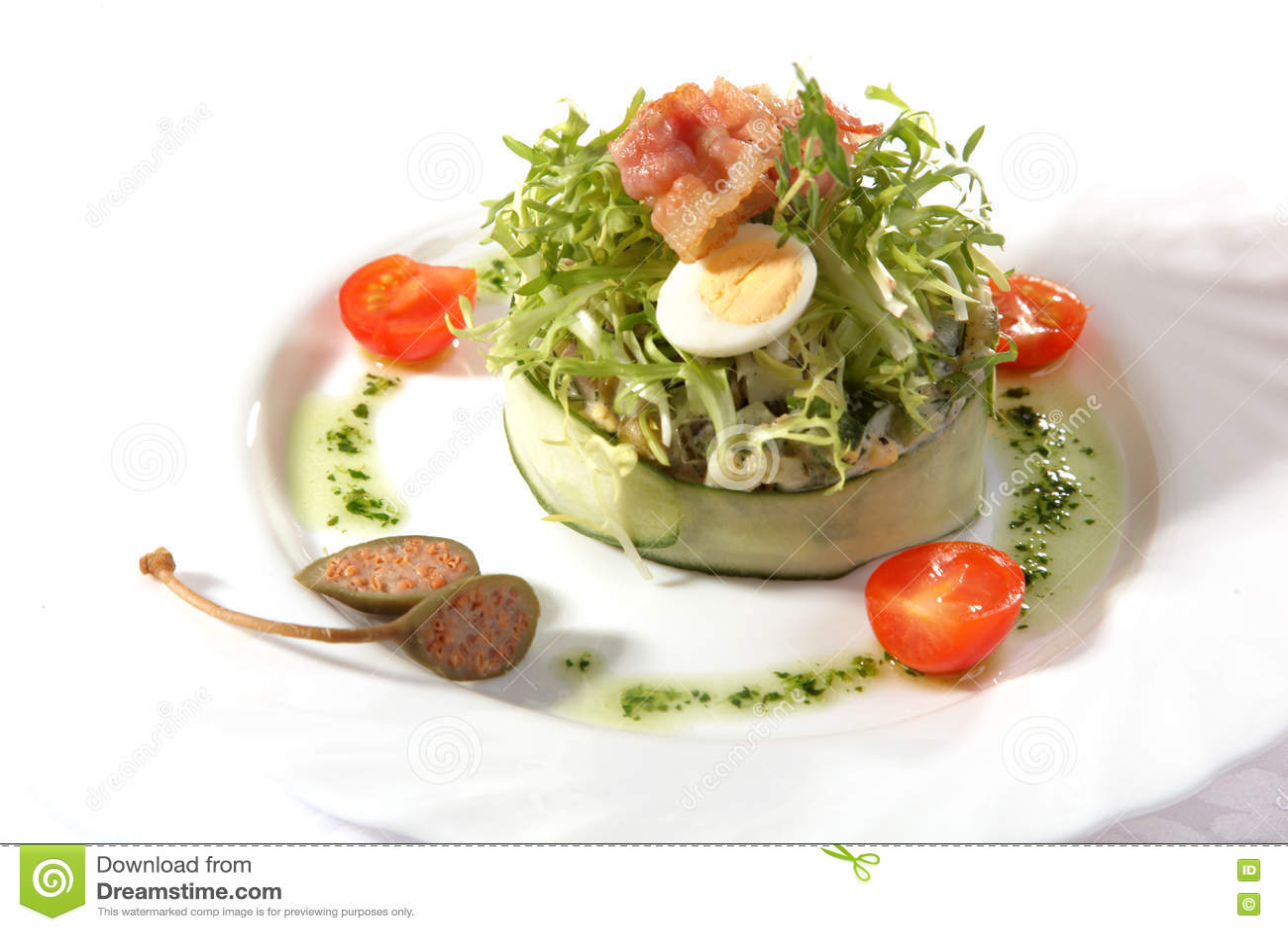 蔬菜沙拉用樱桃