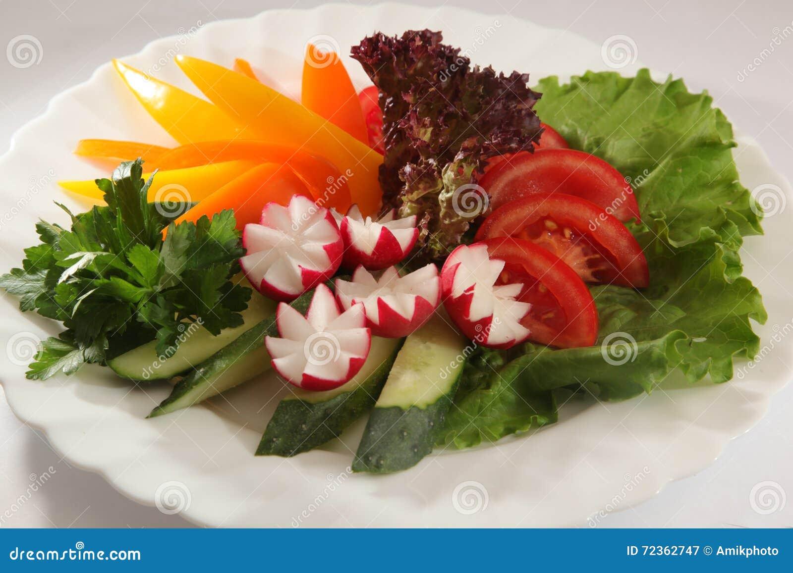 蕃茄、黄瓜和胡椒