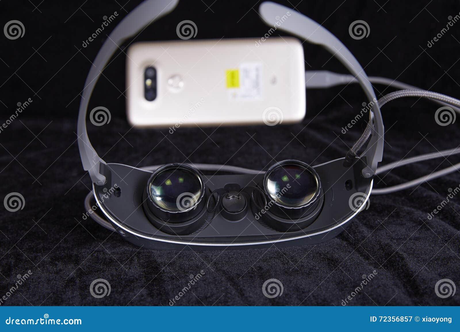 虚拟现实玻璃,便携的技术