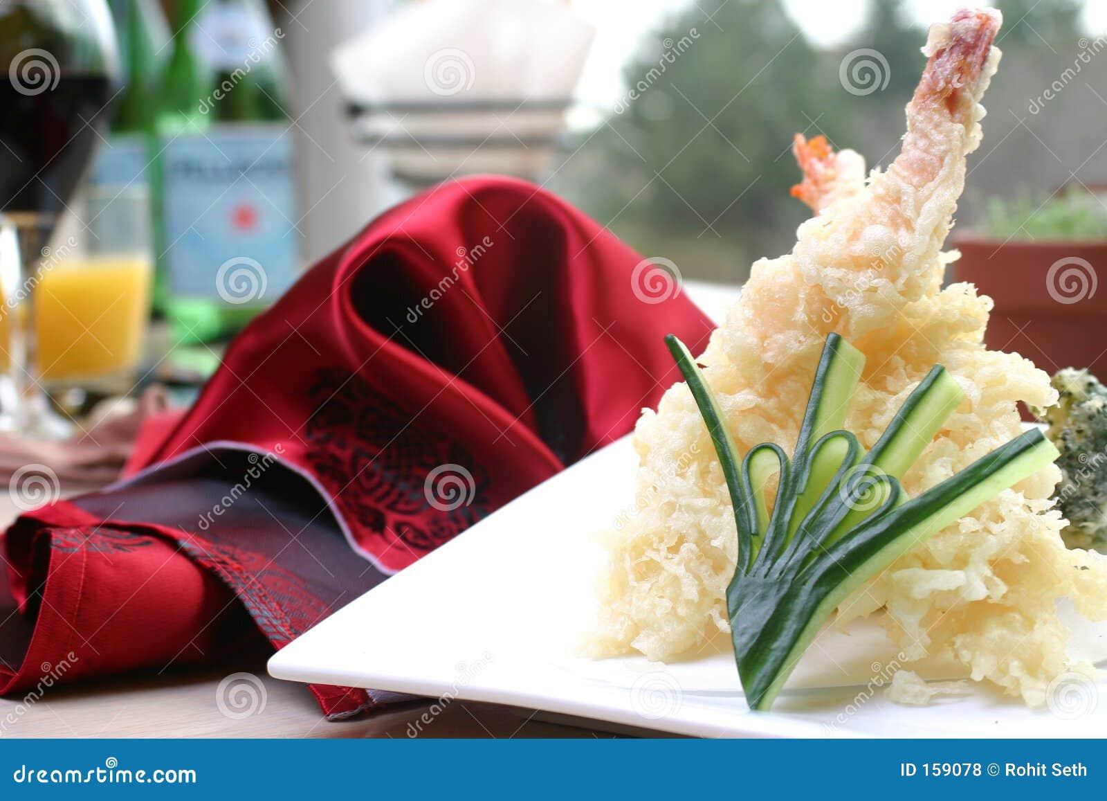虾寿司天麸罗