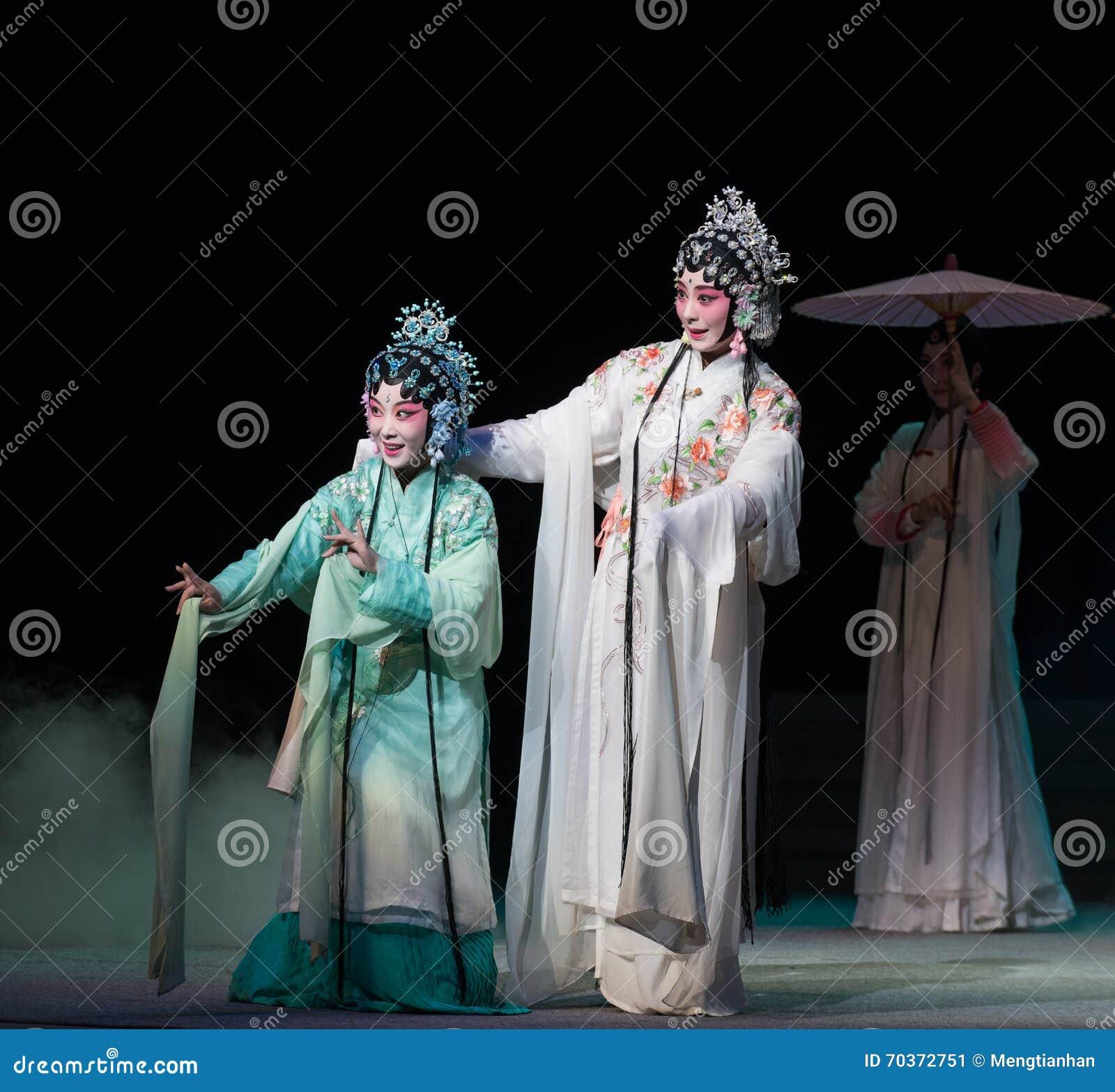 """蛇姐妹Kunqu Opera""""Madame白色Snake†"""