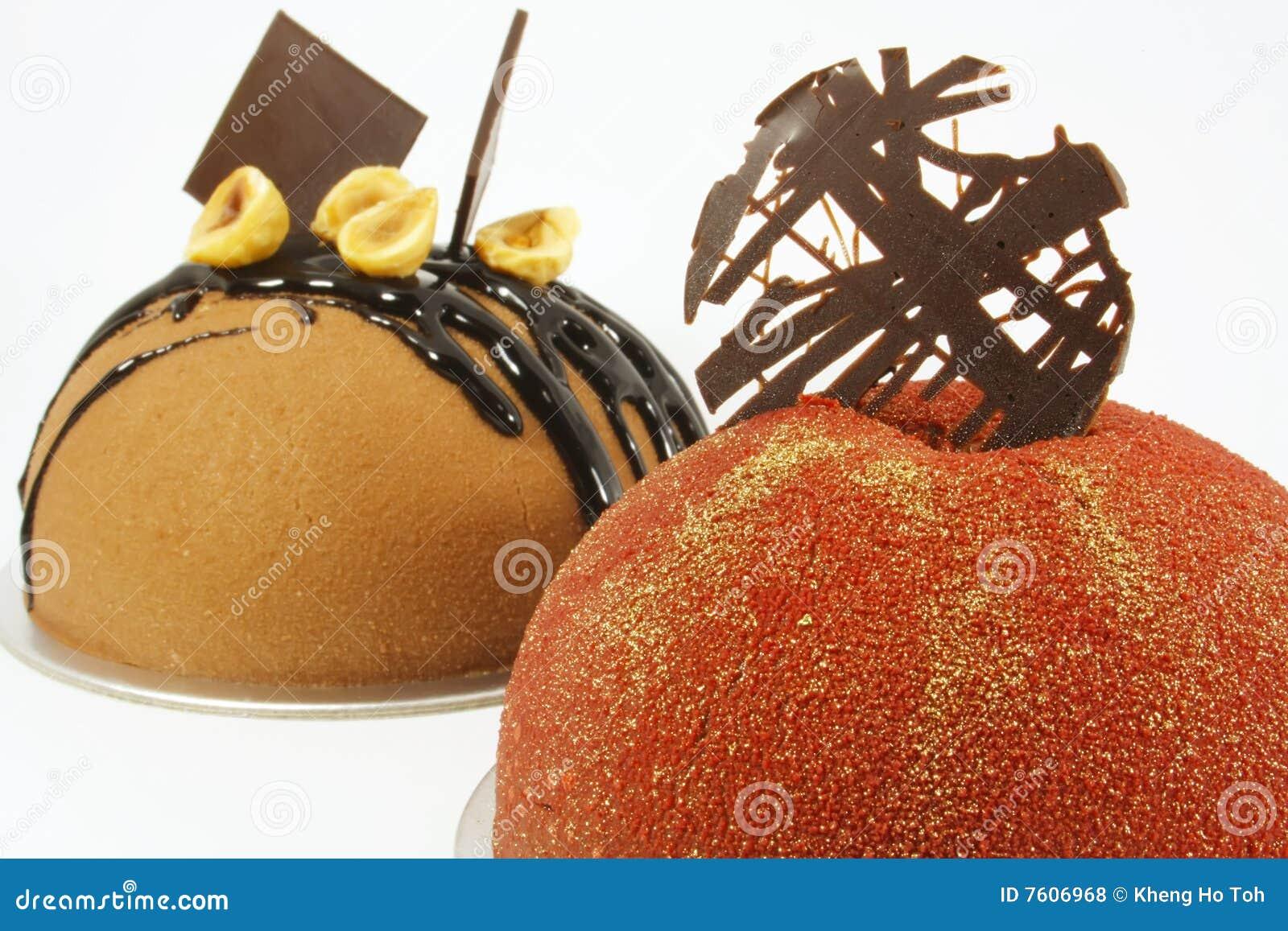 蛋糕巧克力花梢