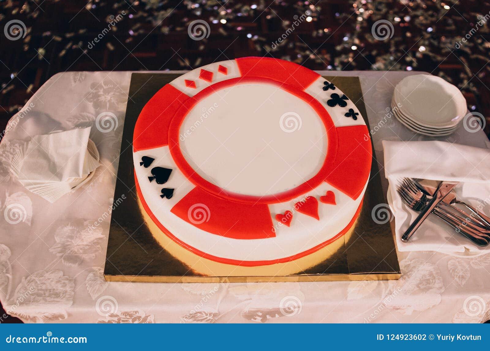 蛋糕欢乐装饰赌博娱乐场样式啤牌卡片