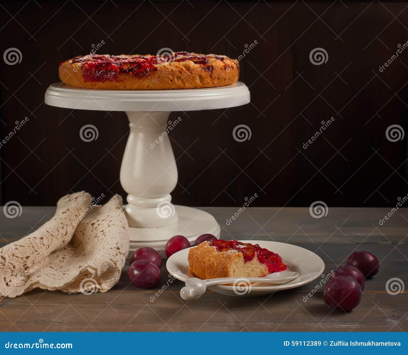蛋糕用有机李子
