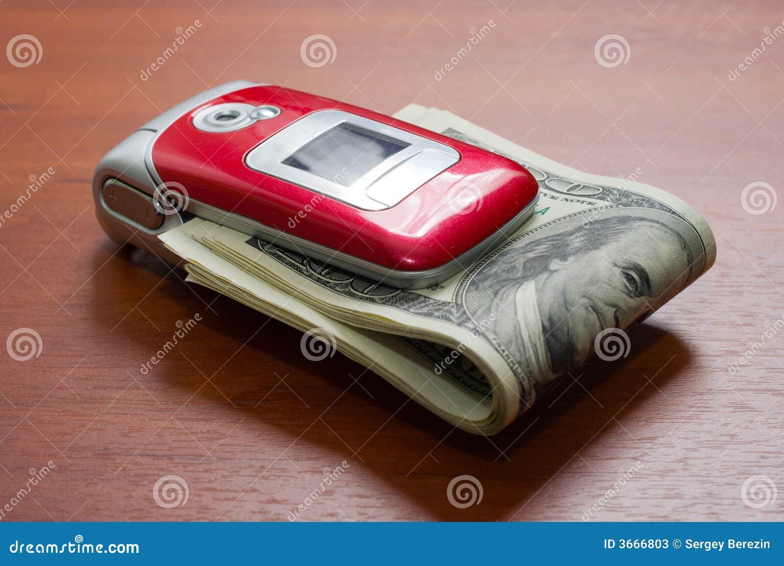 蜂窝电话美元包装电话