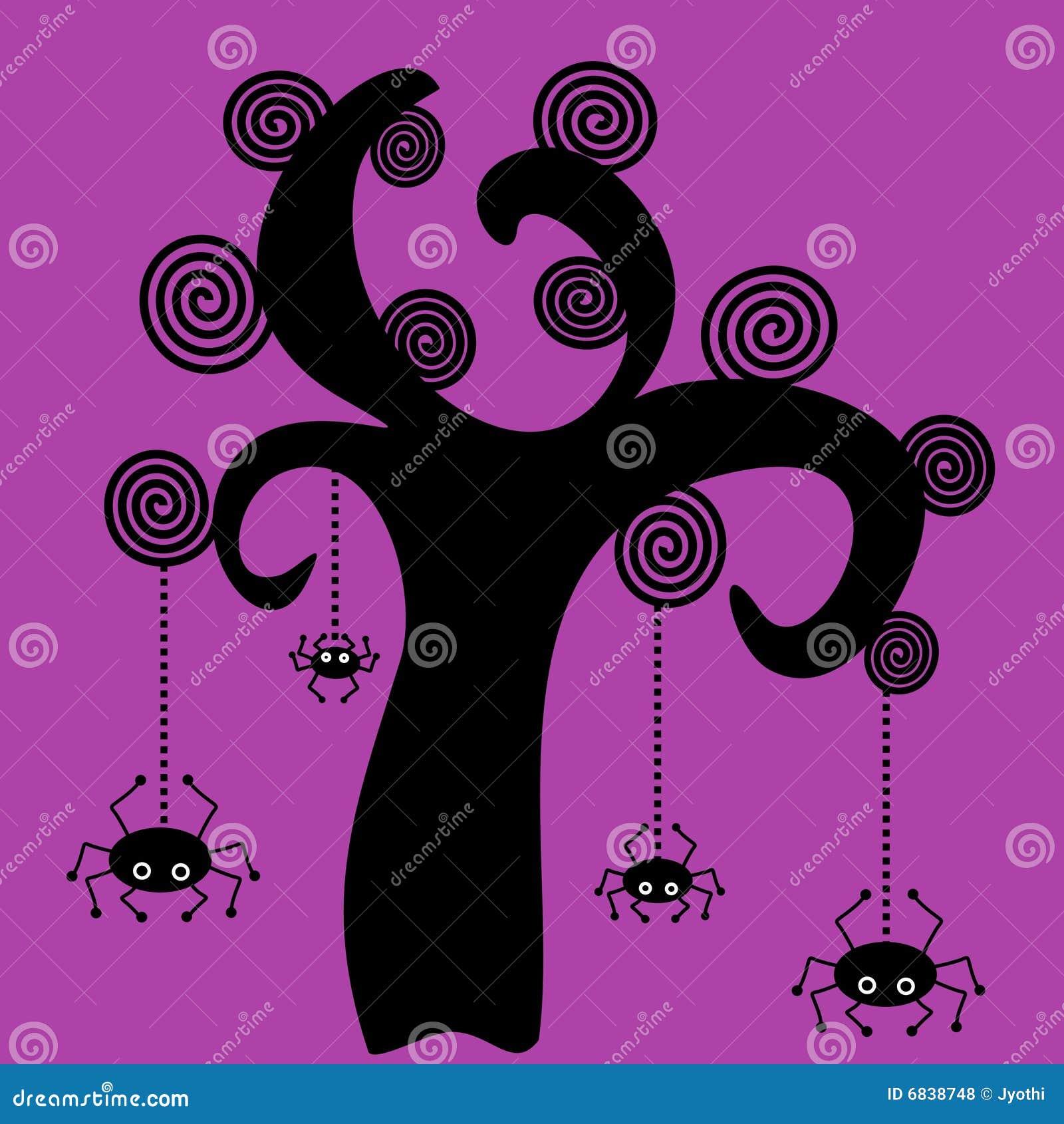 蜘蛛结构树