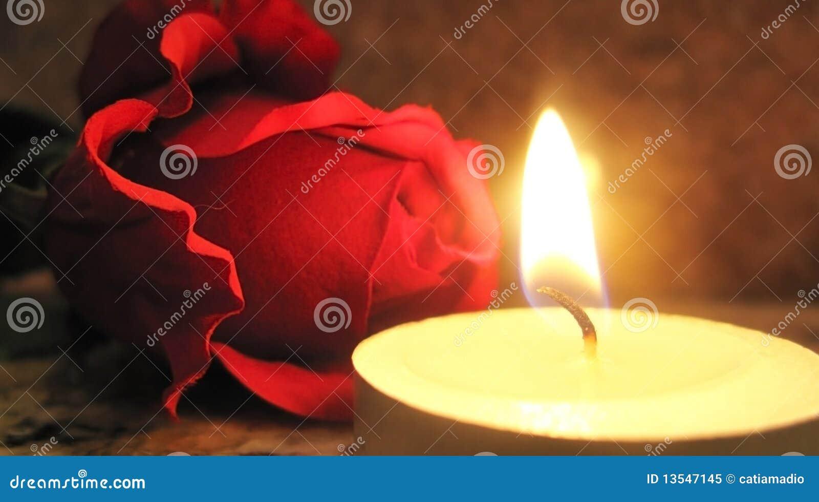 蜡烛上升了