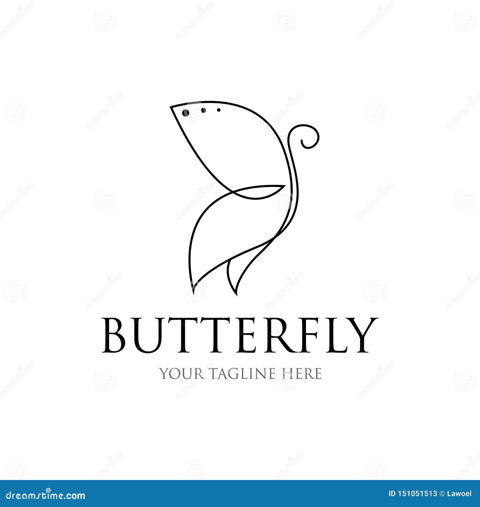 蝴蝶线描 蝴蝶象 蝴蝶形状线传染媒介