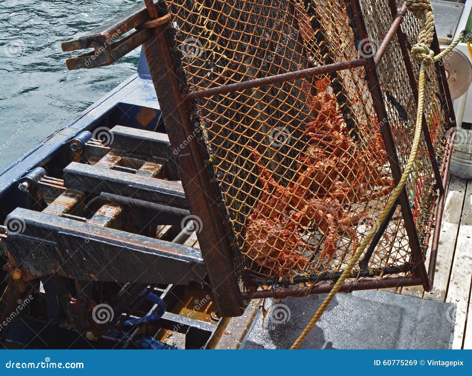 螃蟹捕鱼业在阿拉斯加