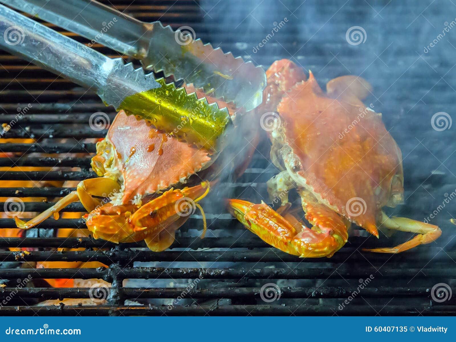 螃蟹烤海鲜