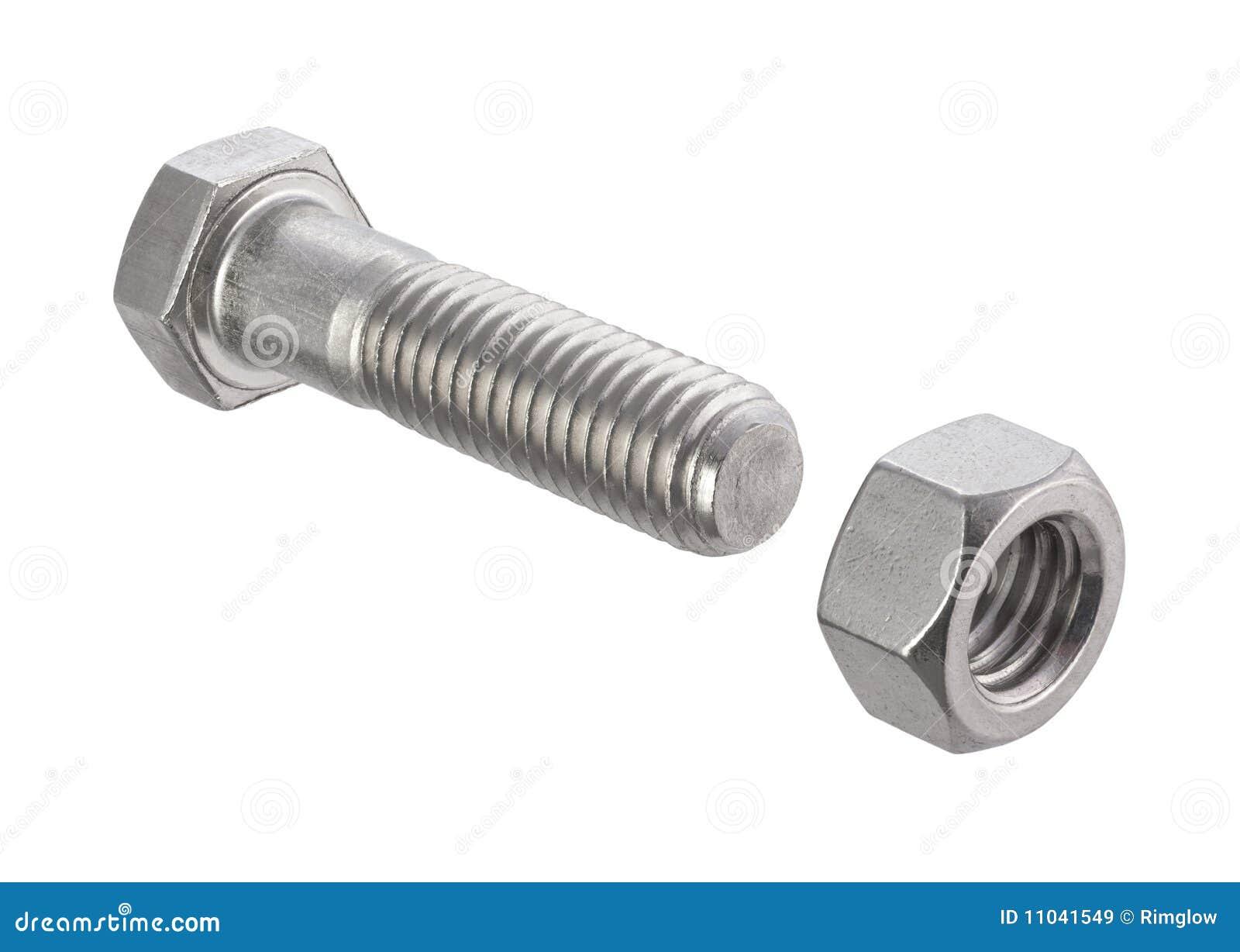 螺栓剪报螺母路径