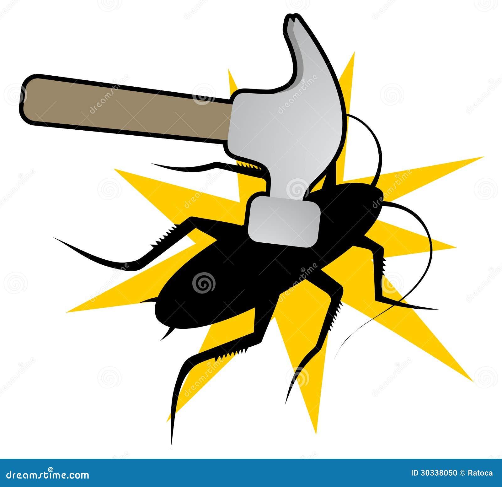 蟑螂和锤子