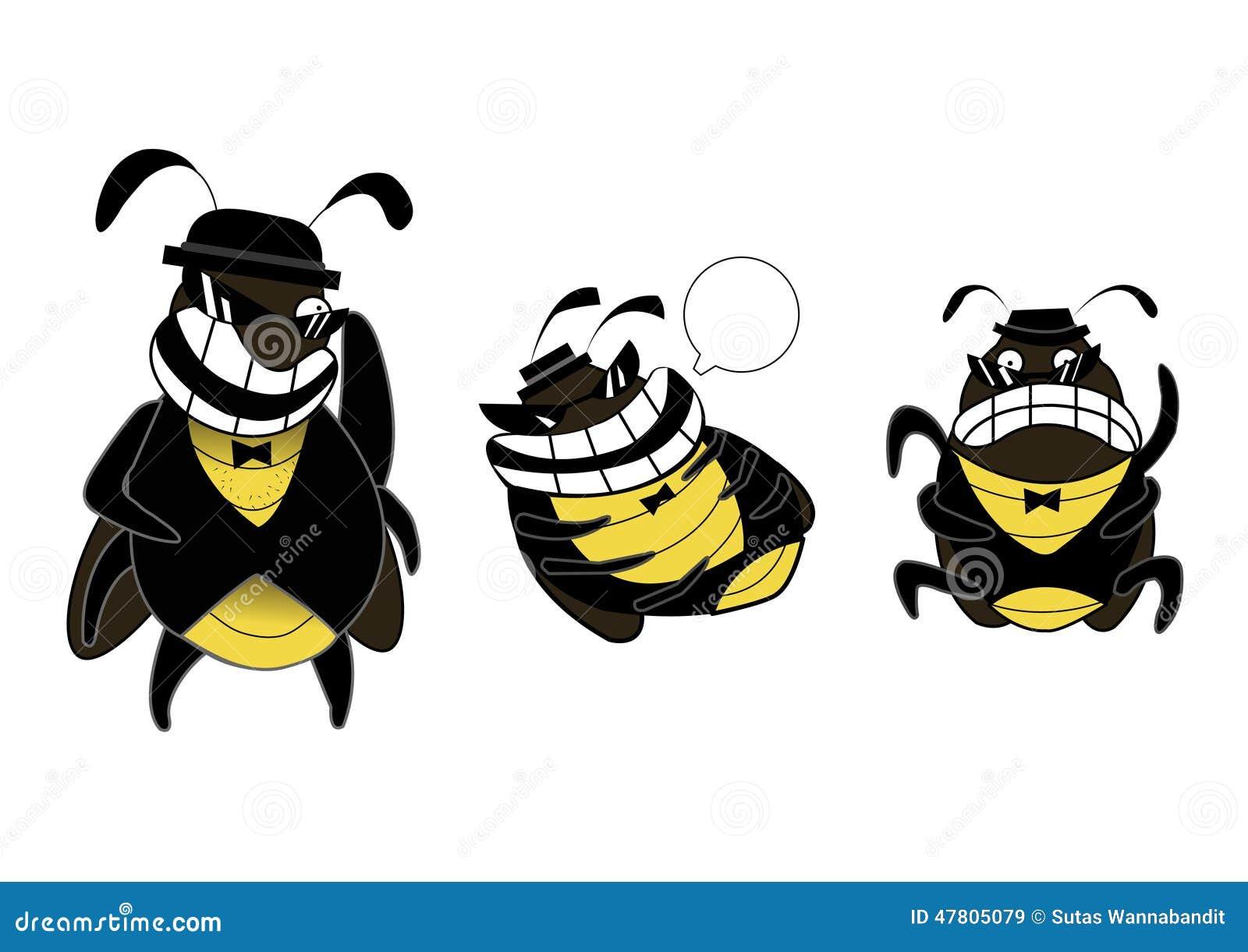 滑稽的蟑螂帮会情感动画片.图片