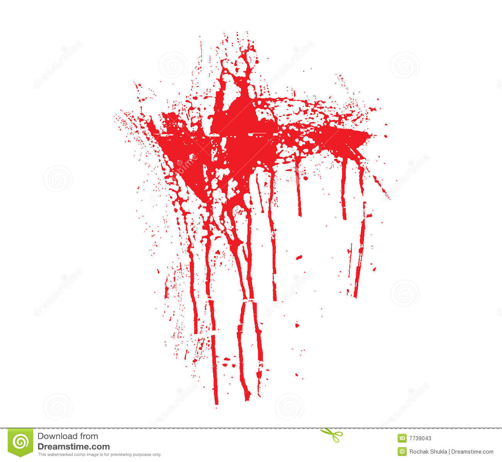 血液泼溅物