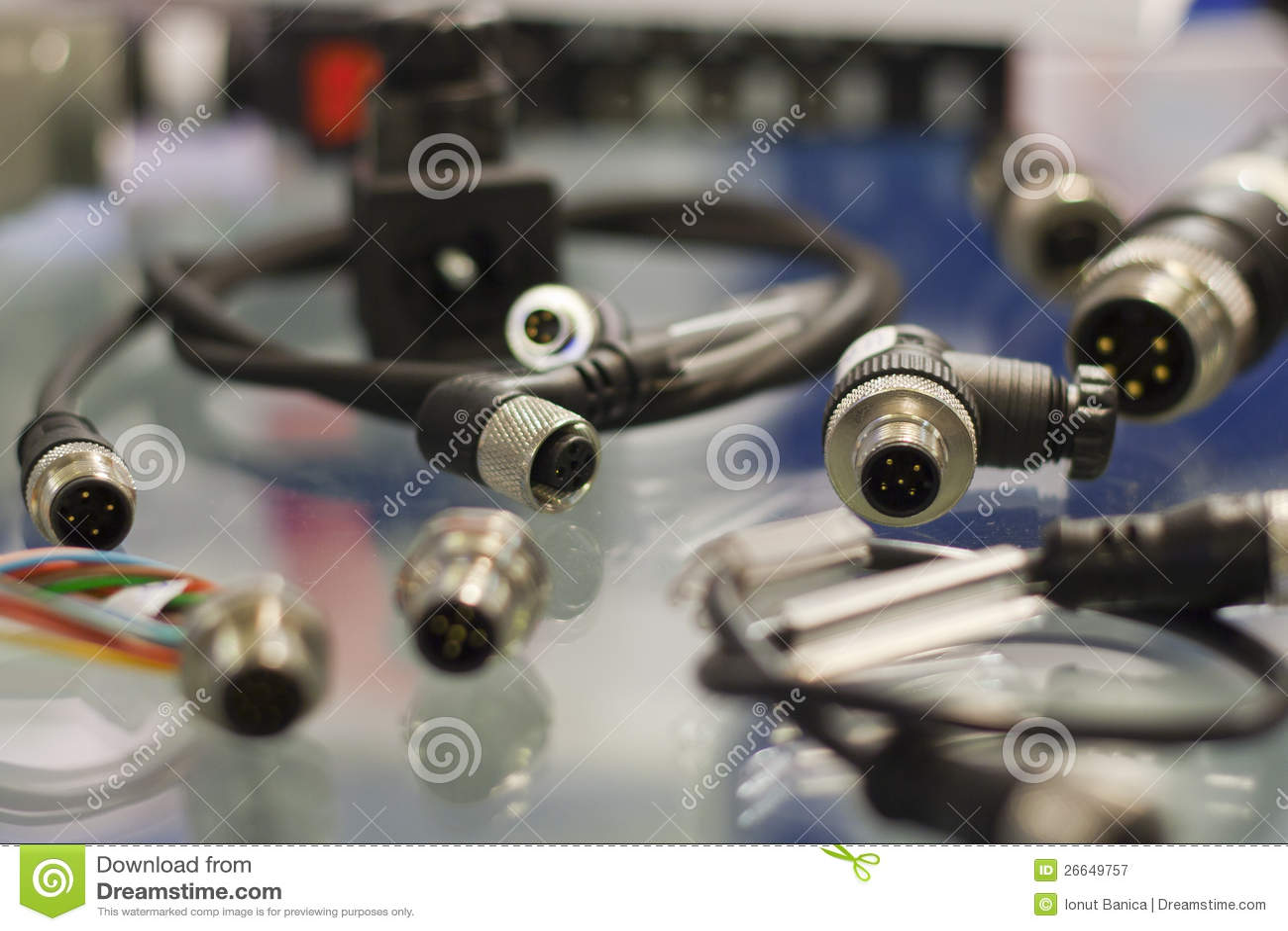 行业传感器连接