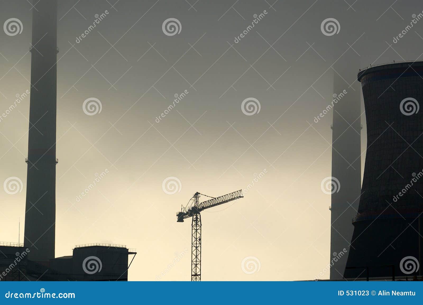 Download 行业天空 库存图片. 图片 包括有 多云, 烟囱, 反对者, 剪影, 次幂, 灰色, 航空, 故障, 行业, 天空 - 531023