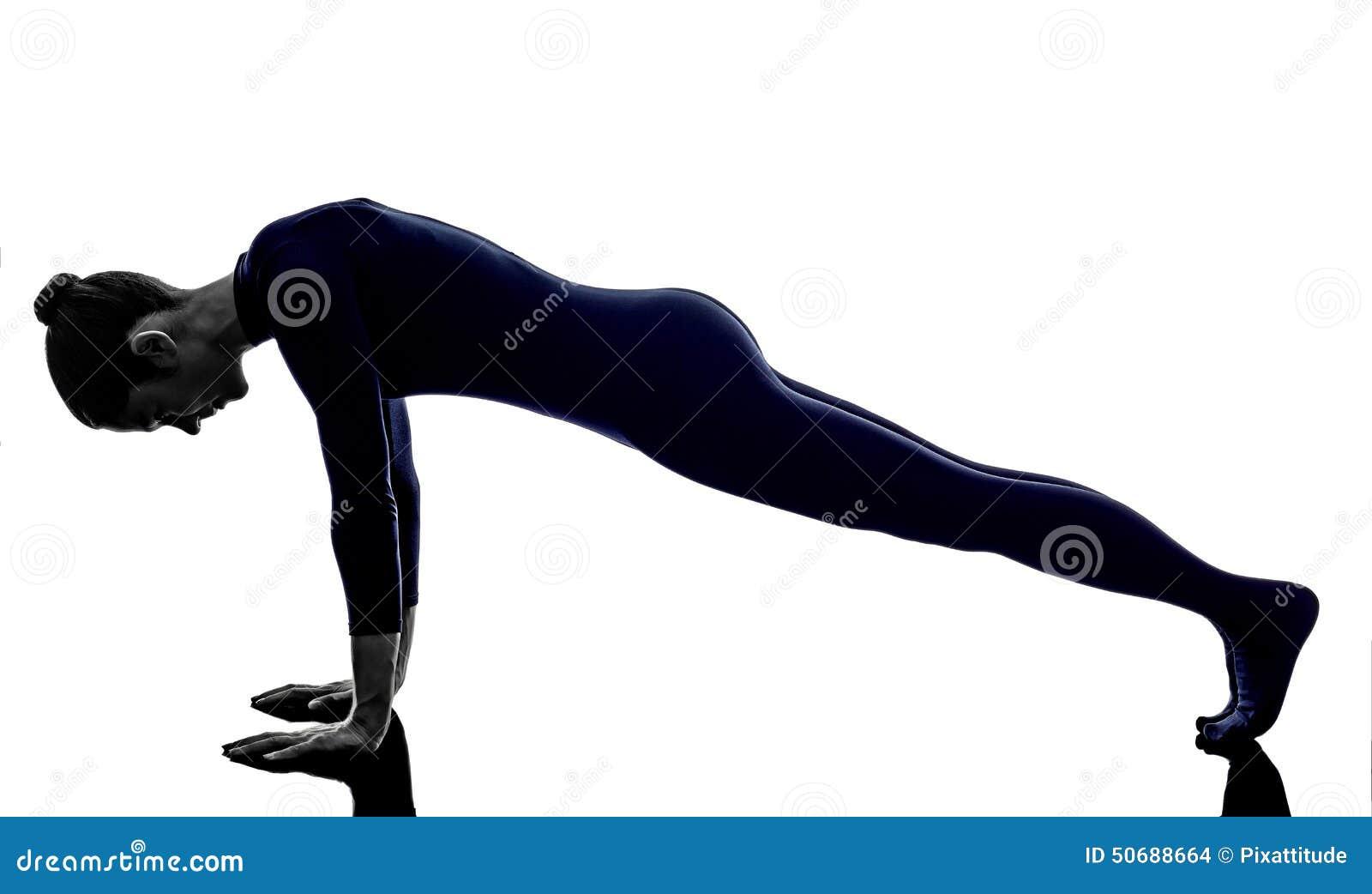 Download 行使dandasana板条姿势瑜伽剪影的妇女 库存照片. 图片 包括有 执行, 健身, 培训, 剪影, 背包 - 50688664