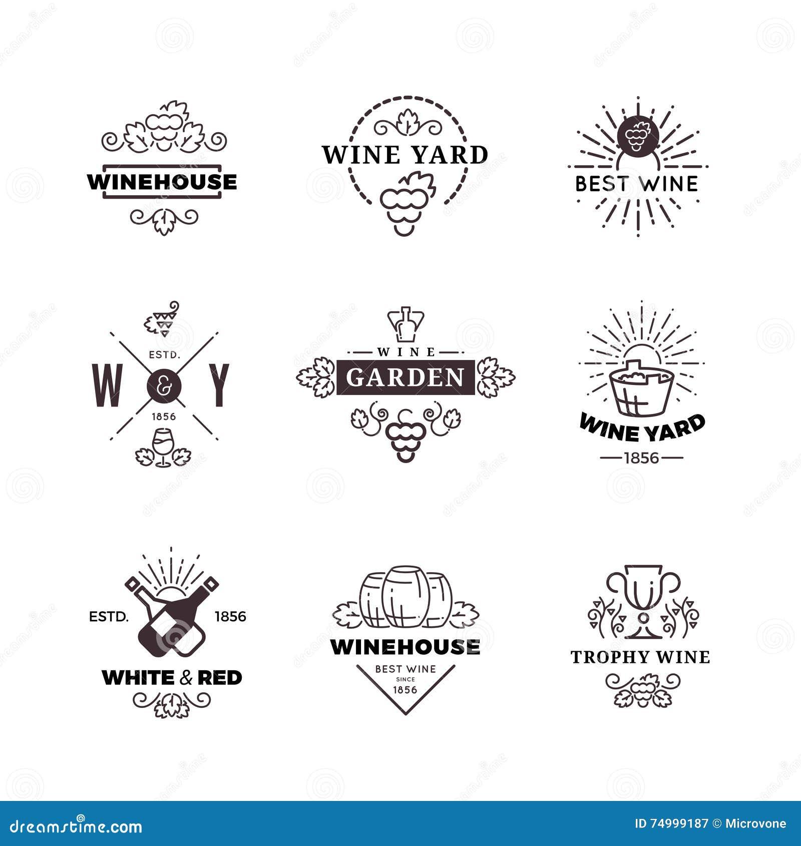 行家酿酒葡萄导航标签,商标,被设置的象征
