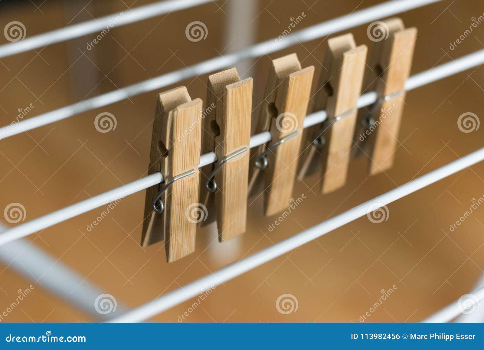 行布朗木钉截去了可折叠晒衣架布朗木背景
