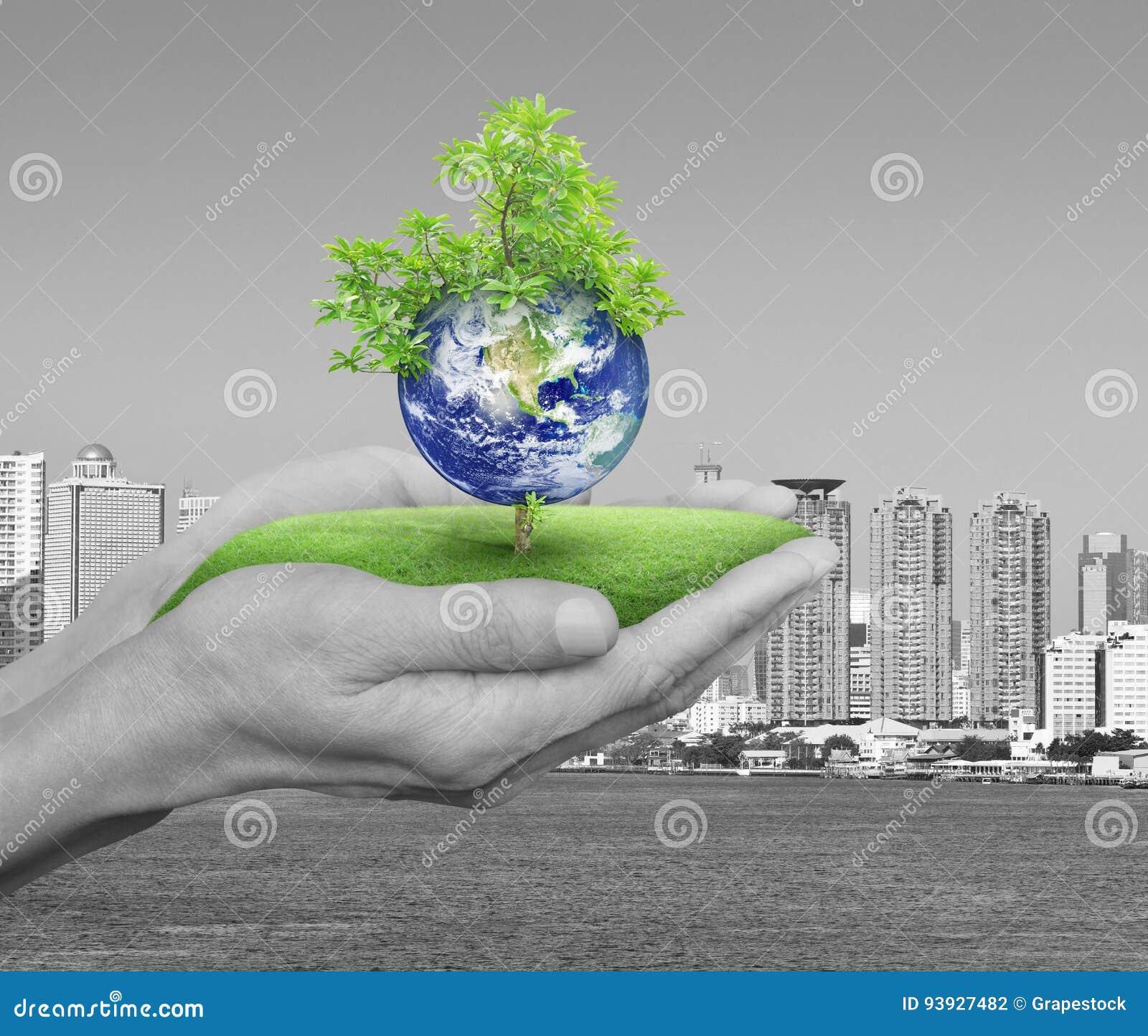 行星和树在人移交黑白城市塔a