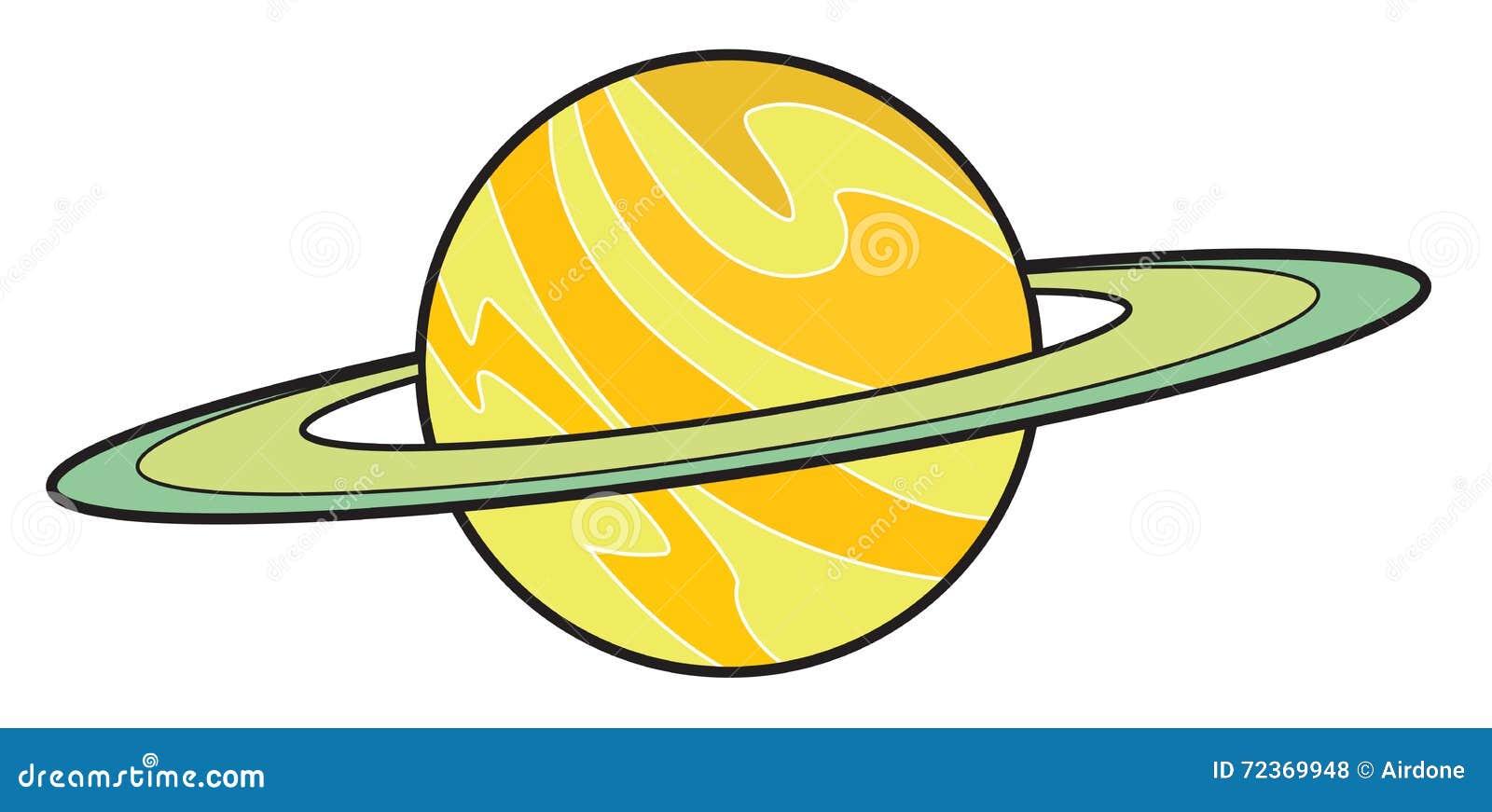 行星土星动画片