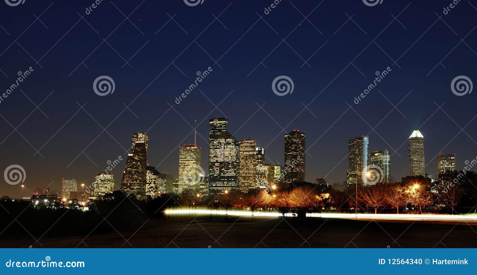 街市休斯敦得克萨斯视图