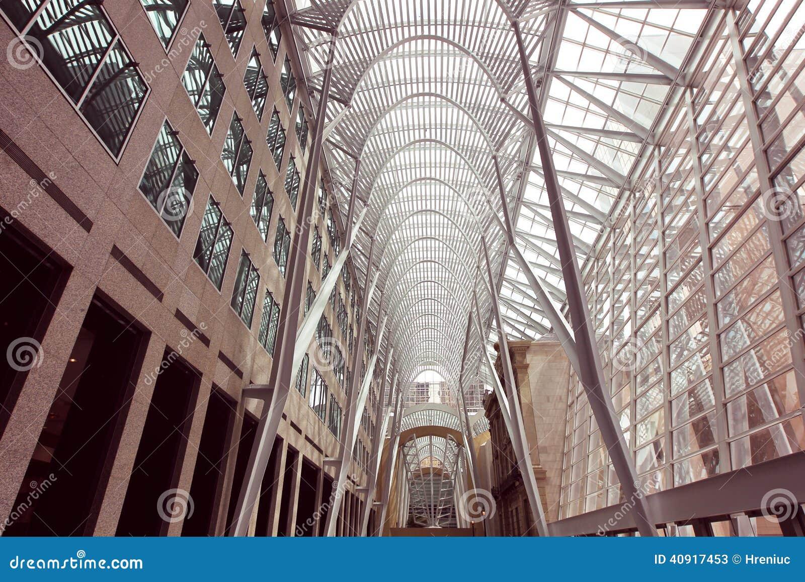 街市多伦多加拿大Brookfield地方BCE地方办公全套设备内部