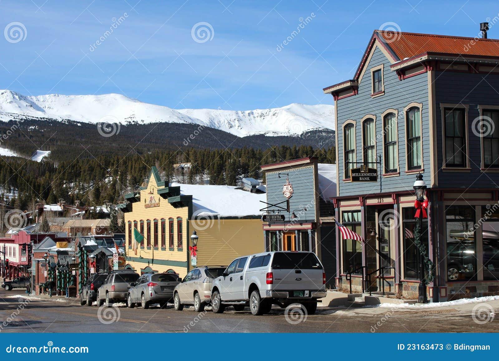 街市Breckenridge,科罗拉多