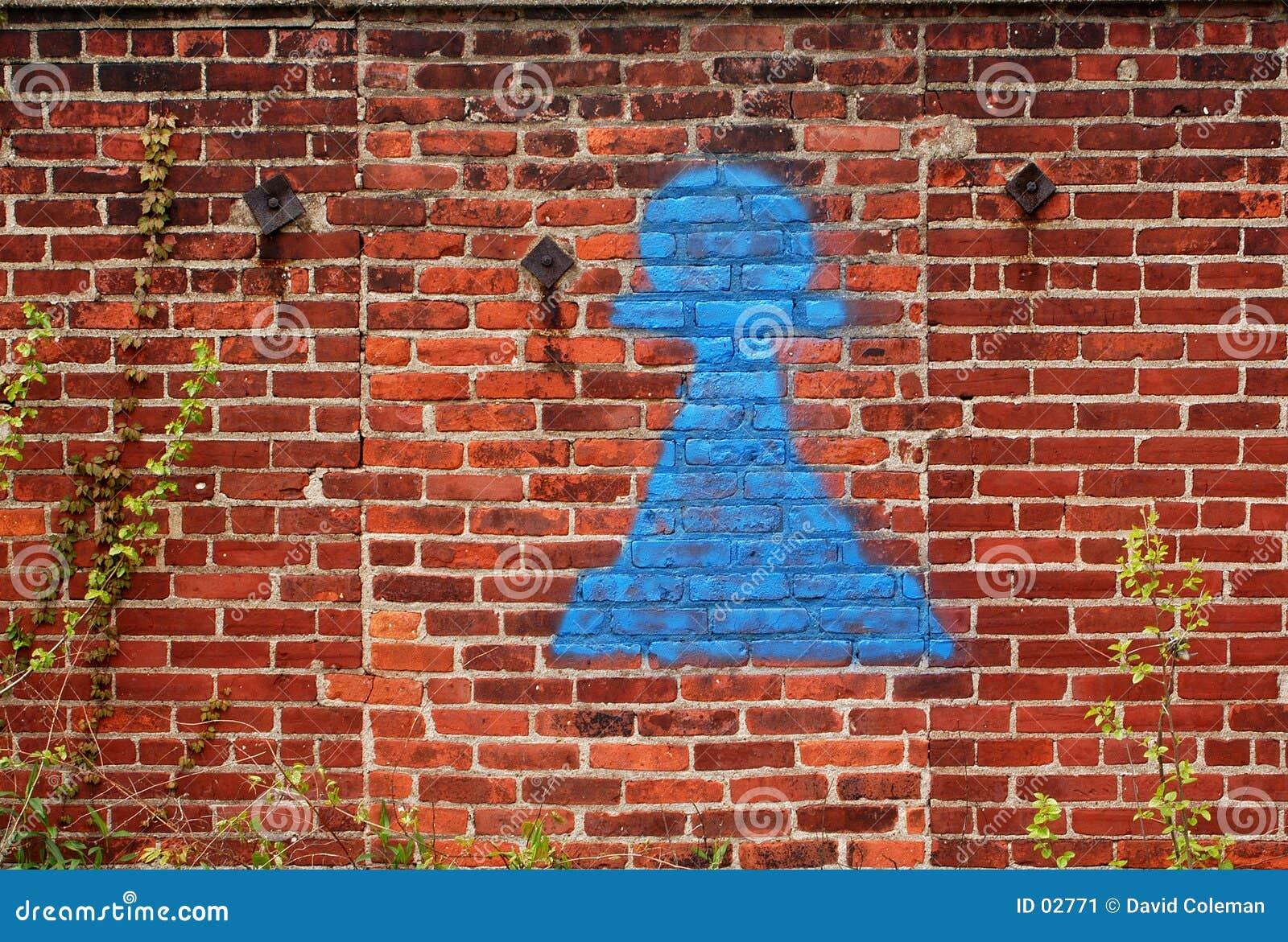 街道画墙壁