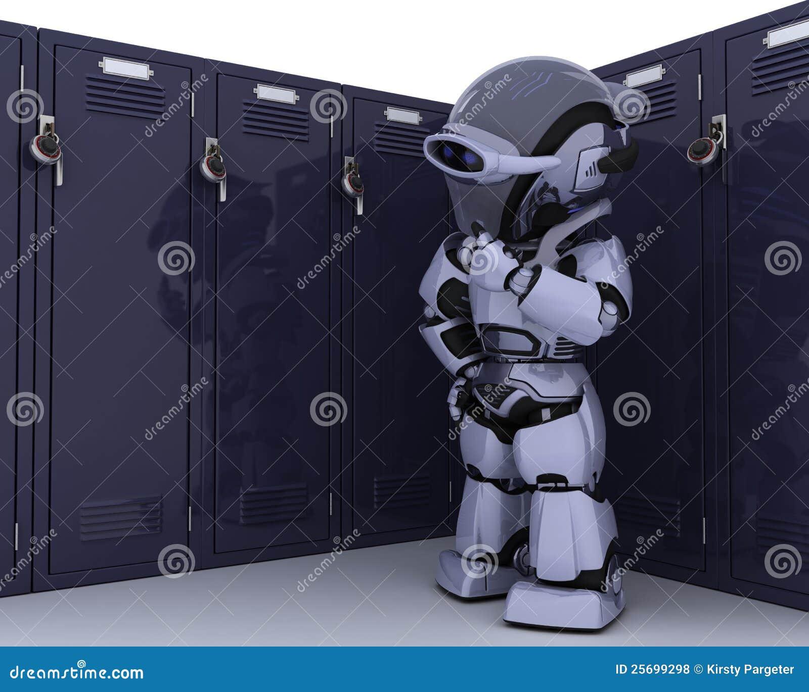 衣物柜机器人学校